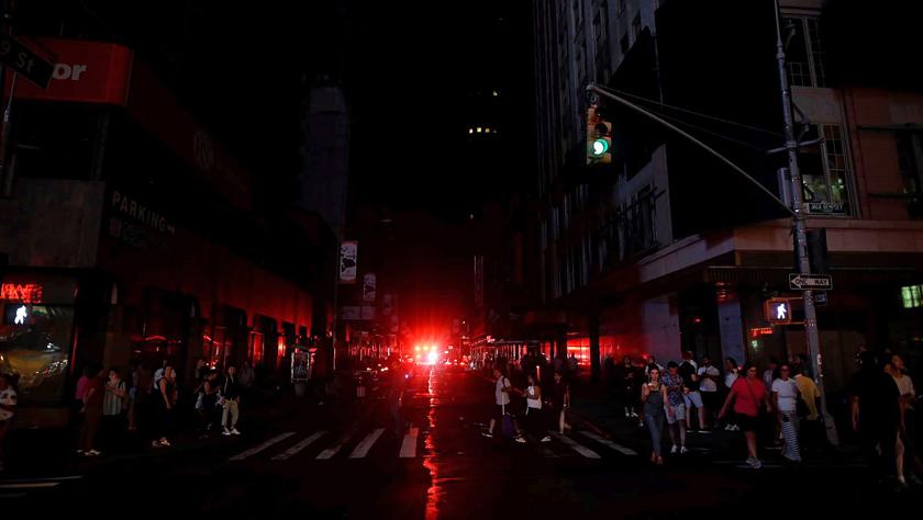 供电公司说纽约大面积停电系继电保护系统失灵所致