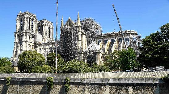 巴黎圣母院重建法案获通过 实际收到捐款不到10%