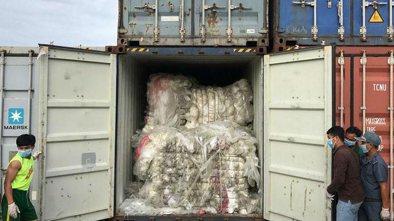 """柬埔寨也准备退还1600吨""""洋垃圾"""":我们不是垃圾箱"""