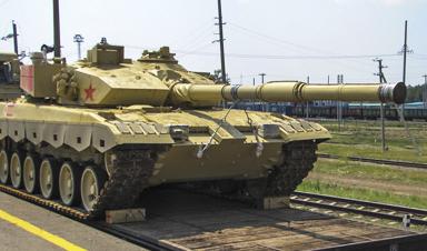 备战比赛!中国96B坦克参赛队抵俄