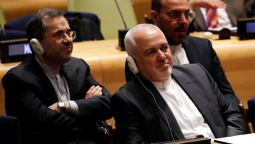 """伊朗外長在聯合國指責美國實施""""經濟恐怖主義"""""""