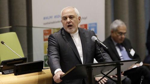 """伊朗外长批美对伊朗打""""经济战"""":相当于开展恐怖主义活动"""