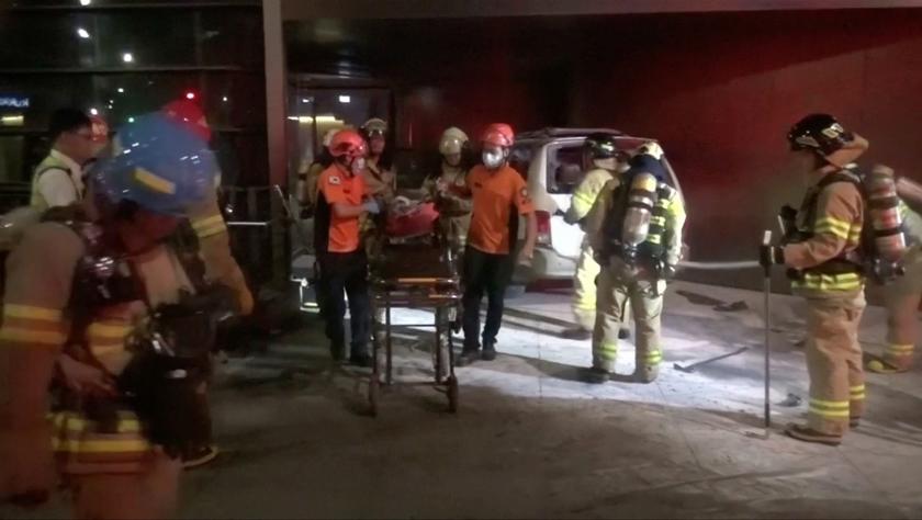 一名韩国男子在日本驻韩大使馆附近焚车身亡