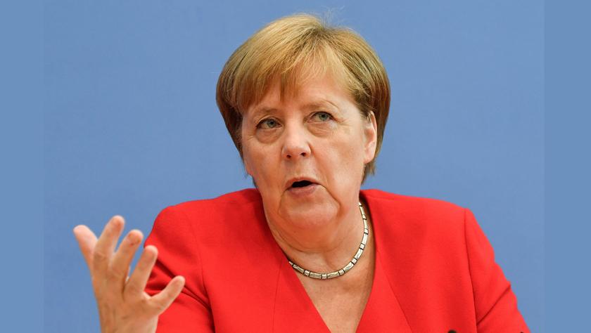 默克尔:伊核协议遭破坏不是伊朗单方面的责任
