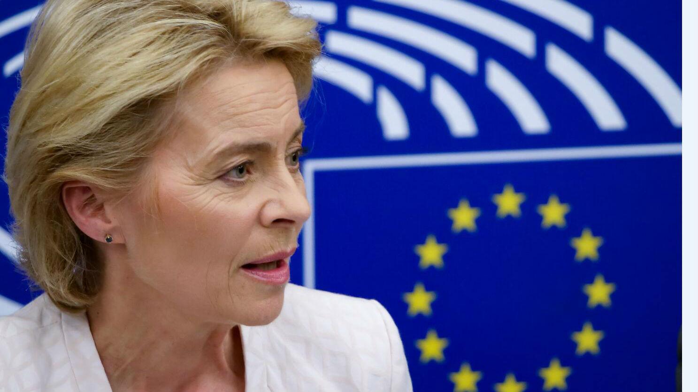 """英媒:冯德莱恩称已放弃""""欧洲合众国""""梦想"""