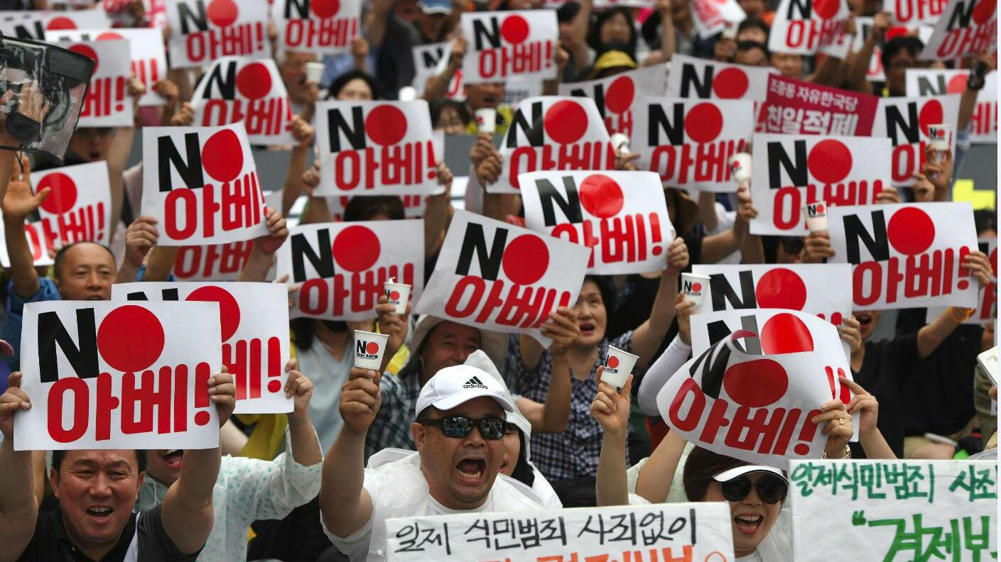 特朗普愿出面化解日韩争端 朝中社谴责日本破坏半岛和平
