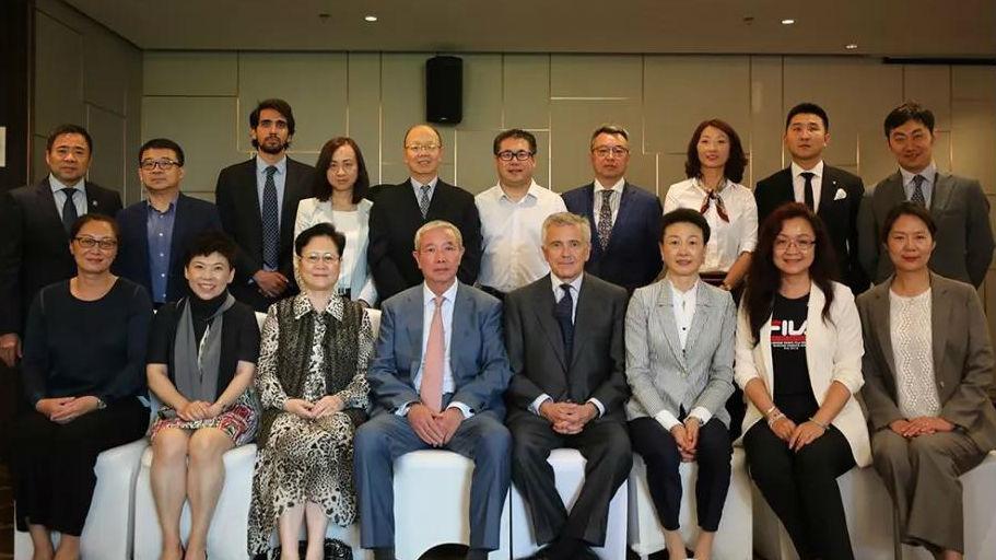 薩馬蘭奇體育發展基金會第二屆第四次理事會在北京隆重召開
