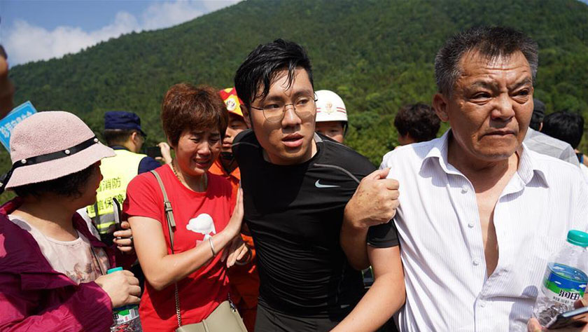 """江西""""驴友""""被困事件:4人死亡 失联人员已获救"""
