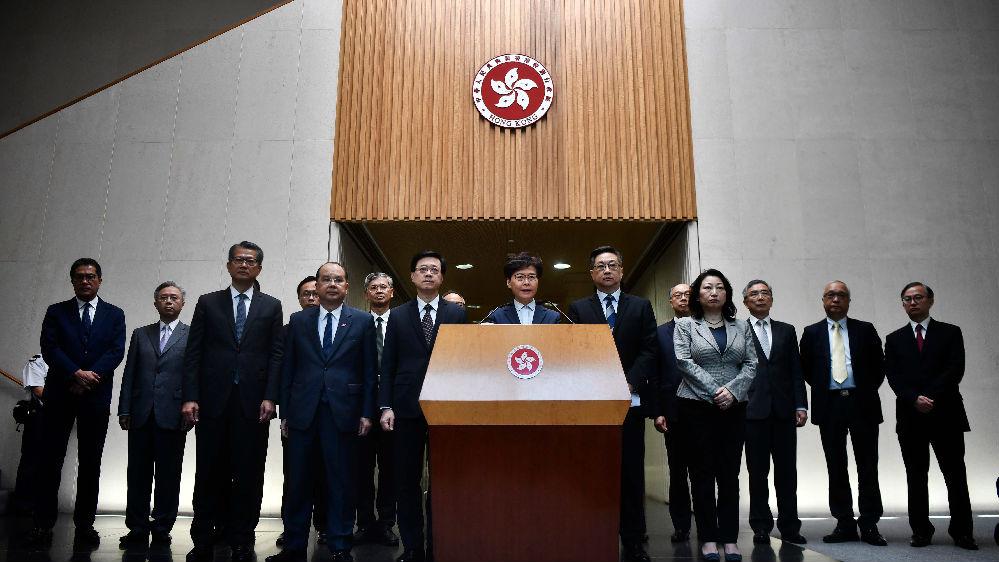 境外媒体:各界要求严惩暴力乱港分子
