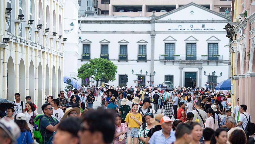 澳門上半年入境旅客突破2000萬人次 同比增兩成