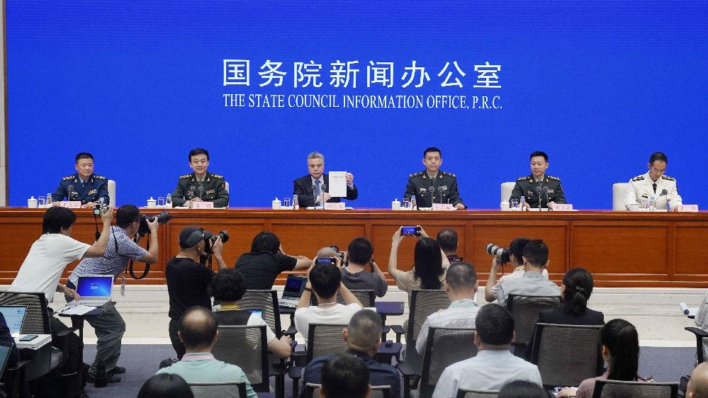 外媒:国防白皮书彰显中国坚定自信