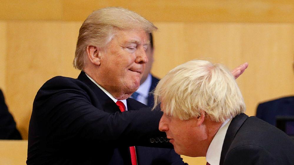 约翰逊与特朗普友谊小船可能说翻就翻?法媒:两人都太自我