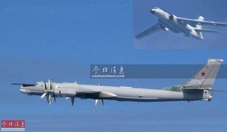 7月23日,俄空天军首次出动2架图-95MS战略轰炸机,飞赴东北亚地区上空与中国空军的2架轰-6K轰炸机一同,实施联合空中战略巡航,这在历史上尚属首次。图为俄空天军图-95MS与中国空军轰-6K联合巡航合成效果图。14