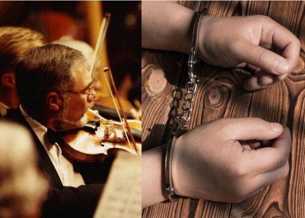 在秘鲁组建的这个交响乐团中,你会看到带着手铐的演奏者——