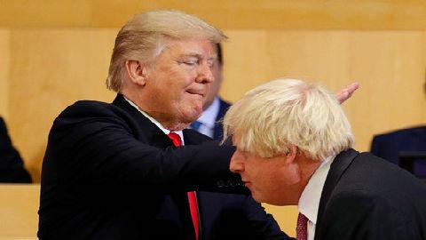 """约翰逊真是""""英国版特朗普""""吗?澳媒:别只看头发"""