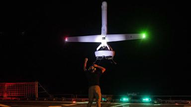 尾座式垂直起飞!美军动用新无人机缉毒