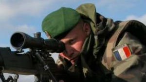 法国外籍军团赢得欧洲狙击手冠军
