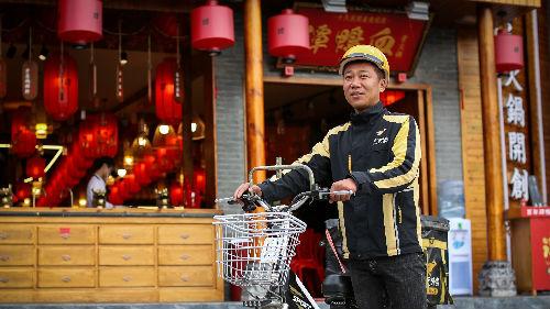 港媒:高温天气令中国外卖订单激增