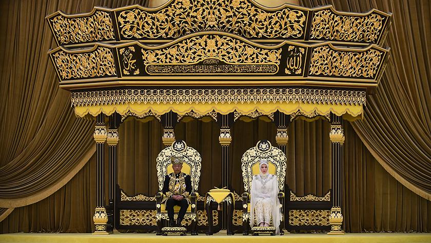 馬來西亞新任最高元首正式登基