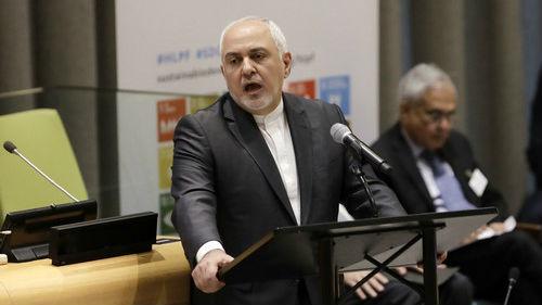 外媒:美国制裁伊朗外长 法英德三国不支持