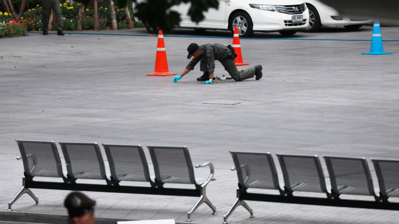 东盟外长会议之际 曼谷连发六起爆炸致伤四人