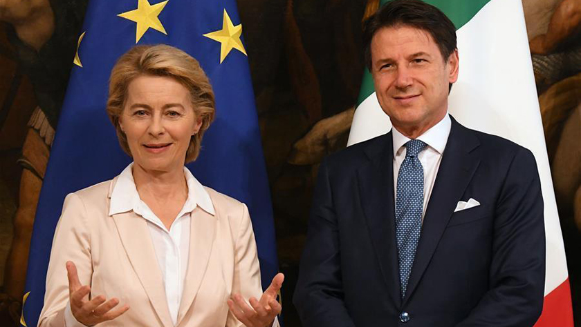 下屆歐盟委員會主席馮德萊恩說歐盟將制定新的難民政策
