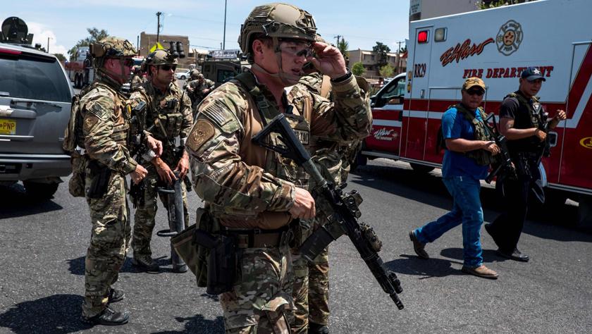 美國得克薩斯州發生槍擊事件多人傷亡