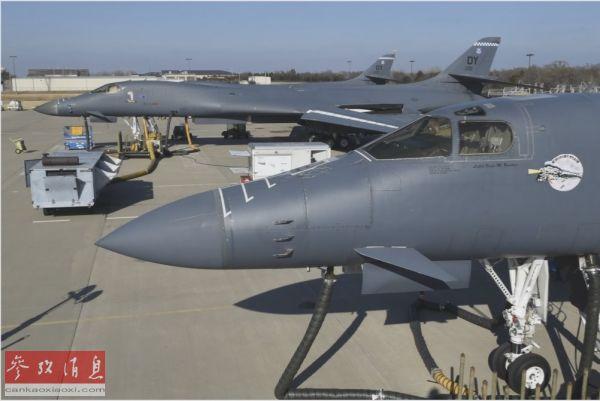 仅剩6架可出动作战!美军B-1B轰炸机战备率堪忧