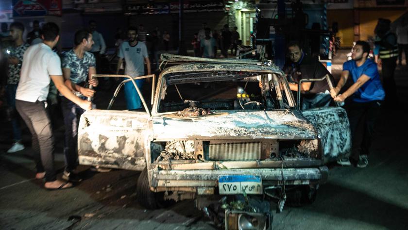 開羅多車相撞引發爆炸致30多人死傷