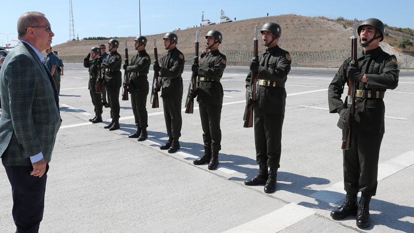 埃爾多安說土軍將進入敘北部幼發拉底河以東地區