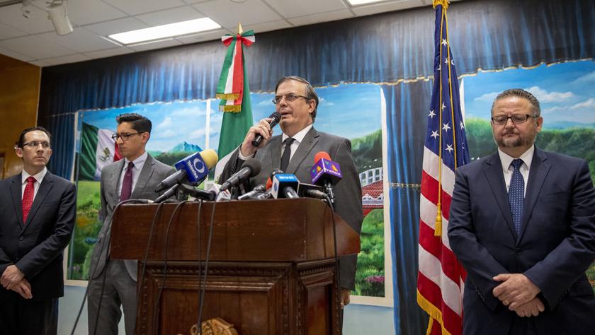 墨西哥外長呼吁美國對種族主義和白人至上主義給予關注