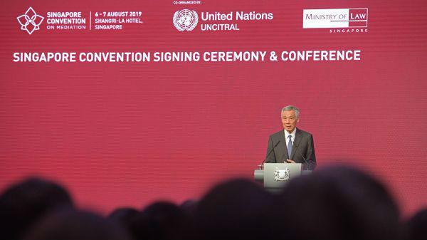 外媒:《新加坡调解公约》开放签署 中美等为首批签约方