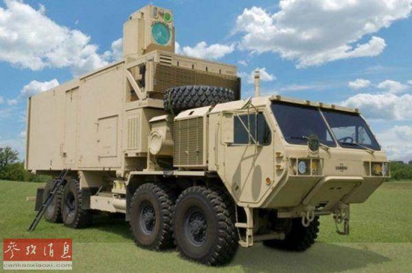 """美陆军在研激光武器号称""""迄今最强大""""?或于2024年正式服役"""