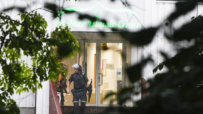 挪威一清真寺發生槍擊案