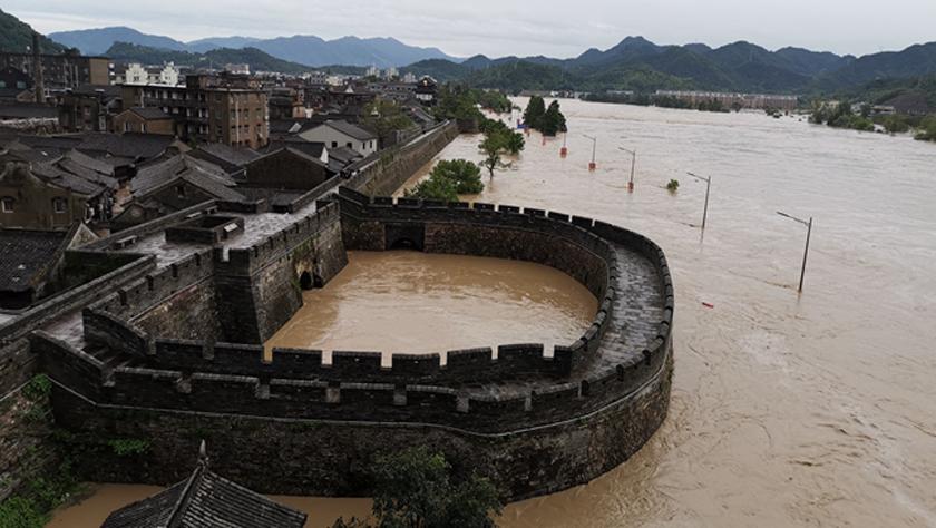 古城洪災 八方馳援——洪水災害下的浙江臨海現場目擊