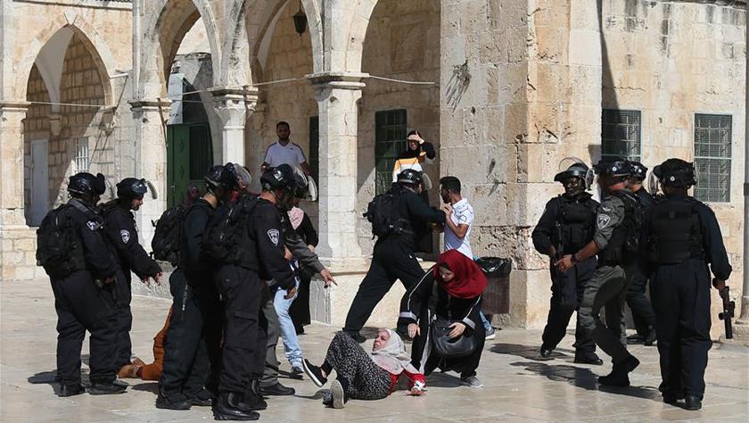 巴勒斯坦譴責以色列侵犯阿克薩清真寺