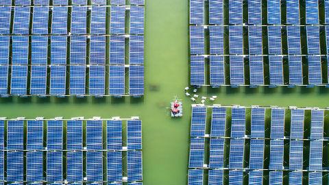 英媒:中国太阳能发电比网电更便宜 已成该领域全球领导者
