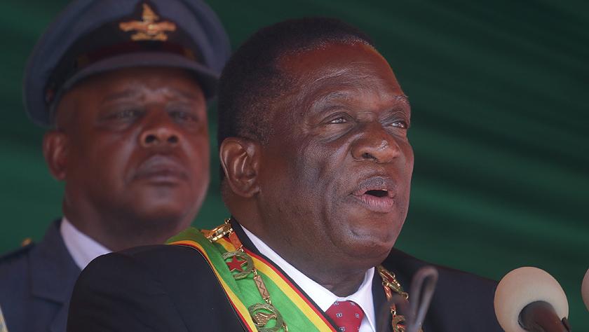 津巴布韋總統表示將確保國民口糧安全