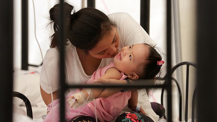菲律賓全國超過14.6萬人感染登革熱