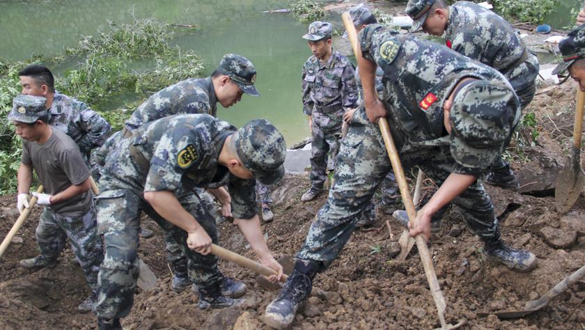 重慶城口縣發生山體滑坡已致1人死亡6人失蹤