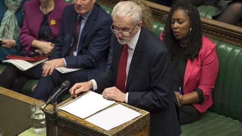 英国工党谋划赶约翰逊下台 法媒:为避免无协议脱欧_德国新闻_德国中文网