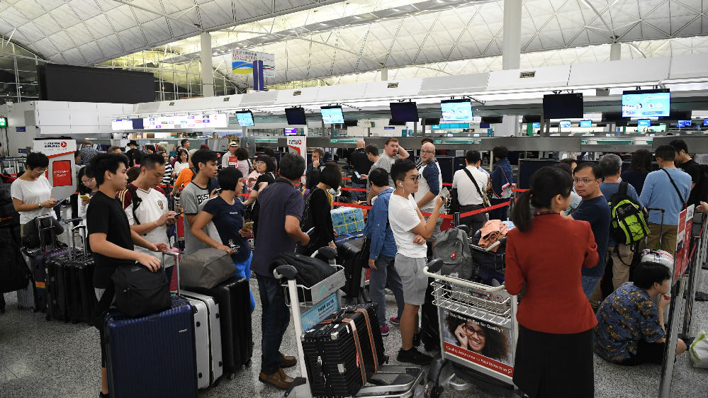 境外媒体关注:香港各界止暴制乱呼声高涨
