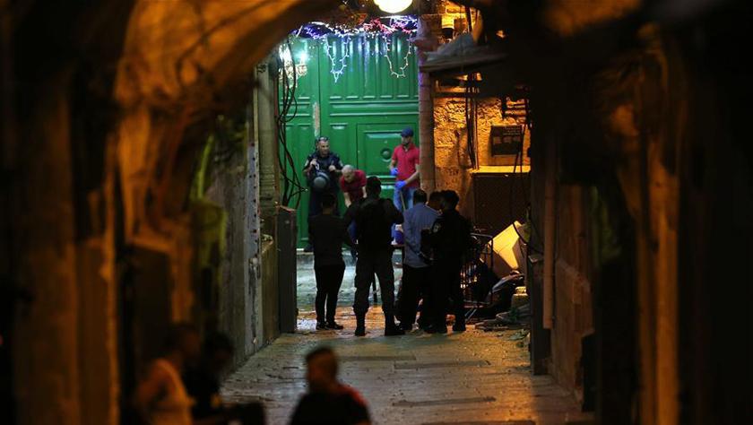 以色列警察开枪打死两名巴勒斯坦人