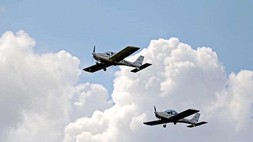 沈陽法庫國際飛行大會開幕
