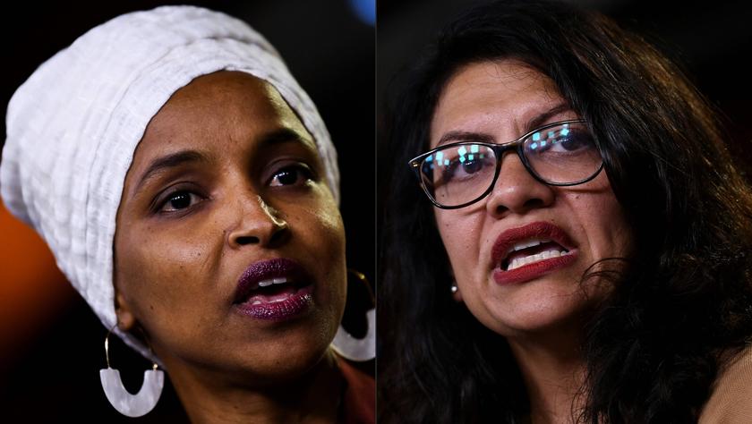 以色列禁止两名支持巴勒斯坦的美国议员入境