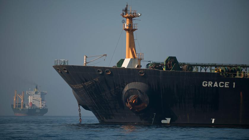 直布羅陀決定釋放裝載伊朗原油的油輪