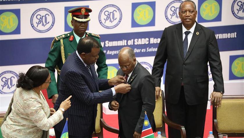 第39屆南部非洲發展共同體首腦會議開幕