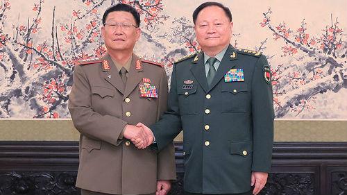 外媒关注朝鲜高级军事代表团访华