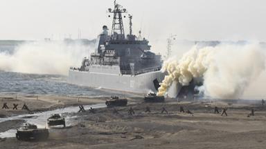 首次参演!俄军千吨级战舰现身北极军演