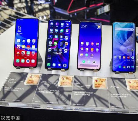 三大品牌手机